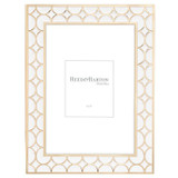 Reed and Barton Circles White Gold 5 x 7 Inch Picture Frame, MPN: 871508, UPC: 735092257000