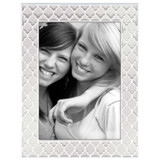 Reed and Barton White 5 x 7 Inch Kasbah Picture Frame, MPN: 869727, UPC: 735092256522