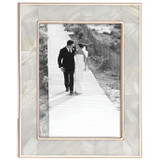 Reed and Barton Mother Pearl Rose Gold Picture Frame 5 x 7 Inch, MPN: 869709, UPC: 735092256454