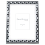 Reed and Barton Silver Link Picture Frame 5 x 7 Inch Midnight, MPN: 7657, UPC: 735092225481