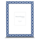 Reed and Barton Silver Link Picture Frame 5 x 7 Inch Navy, MPN: 7757, UPC: 735092225511