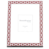 Reed and Barton Silver Link Picture Frame 5 x 7 Inch Poppy, MPN: 7957, UPC: 735092225566
