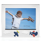 Reed and Barton Zoom Zoom Plane 5 x 7 Inch Picture Frame, MPN: 879474, UPC: 735092260765