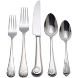 Reed and Barton Sea Shell Flatware 5B Place Set, MPN: 7100805, UPC: 735092159267