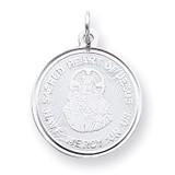 Sacred Heart of Jesus Medal Sterling Silver MPN: QC3458 UPC: