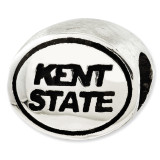 Antiqued Kent State University Collegiate Bead Sterling Silver MPN: QRS3012 UPC: 886774374178