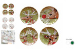 Casafina Deer Friends Dessert Plate Set of 4 MPN: DF604 UPC: 840289233948