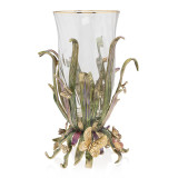 Jay Strongwater Elva Butterfly and Leaf  Vase, MPN: SDH2517-289