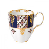 Royal Albert 100 Years 1900 Mug 14.1 Oz Regency Blue MPN: 40017576 UPC: 701587269520