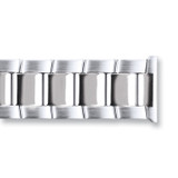 20mm Stainless Steel Oyster-Style with Deployment Watch Band , MPN: BA426-20, UPC: