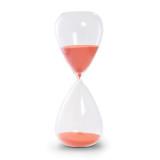 Red-Orange Sand Hand-blown Glass 90-Minute Hourglass , MPN: GM20954, UPC: 797140008385