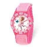 Disney Kids Fancy Nancy Pink Nylon Band Time Teacher Watch , MPN: XWA5876, UPC: 842885106442