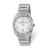 Charles Hubert Mens Stainless Steel Off-White Dial Watch , MPN: XWA6084, UPC: