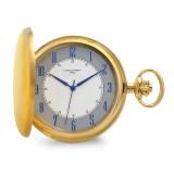 Charles Hubert Satin IP-plated Stainless White Dial Pocket Watch , MPN: XWA6117, UPC: