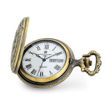 Charles Hubert Antique Gold Finish Train Pocket Watch , MPN: XWA6147, UPC: