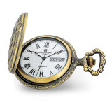 Charles Hubert Antique Gold Finish Hunter & Dog Pocket Watch , MPN: XWA6150, UPC: