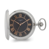 Charles Hubert Chrome Finish Grey Dial Quartz Pocket Watch , MPN: XWA6159, UPC: