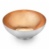 "Mary Jurek Symphony Peach Pearl Round Bowl 4.5"" MPN: SYPH005.10, UPC: 817658014972"