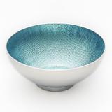 "Mary Jurek Symphony Blue Pearl Round Bowl 4.5"" MPN: SYPH005.9, UPC: 817658014958"