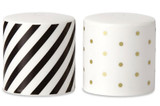 Kate Spade Black Dot Esc Ord White Willow Candle, MPN: 844743, UPC: 882864490513