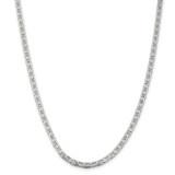 Sterling Silver 4.5mm Anchor Chain 30 Inch, MPN: QAN120-30
