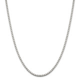 Sterling Silver 3.25mm Box Chain 22 Inch, MPN: QBX060-22