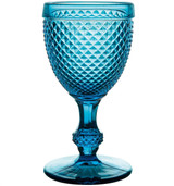 Vista Alegre Bicos Set Of 4 Water Goblets Blue MPN: 49000060 EAN: 5601266303888