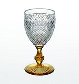Vista Alegre Bicos Bicolor Goblet With Ambar Stem MPN: 49000427 EAN: 0
