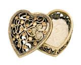 Tizo Heart Jeweltone Enamel Box, MPN: RS251TPBX