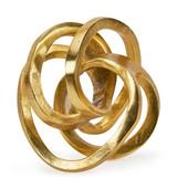 Tizo Large Knot Gold Paperweight , MPN: ZA688GDSC