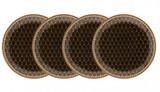 Halcyon Days GC Antler Trellis Black Coaster Set x 4, MPN: BCGAT02SCN EAN: 5060171161110