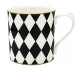 Halcyon Days Parterre Black Mug, MPN: BCPAR02MGG EAN: 0