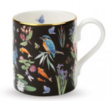 Halcyon Days Kingfisher Scatter Black Mug, MPN: BCKFS02MGG EAN: 0