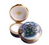 Halcyon Days Christmas Tree Enamel Box, MPN: ENCHT1101G EAN: 5060171103332