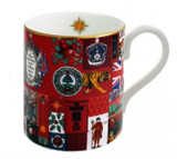 Halcyon Days Glorious Christmas Mug, MPN: BCTGC01MGG EAN: 5060171103745