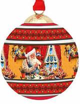 Halcyon Days Santa Bauble Ornament, MPN: BCSAN06XBN