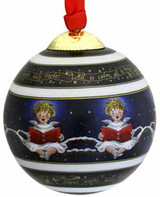 Halcyon Days Cherub Bauble Ornament, MPN: BCSCH11XBN
