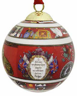 Halcyon Days Glorious Christmas Bauble Ornament, MPN: BCTGC01XBN