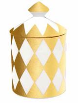Halcyon Days Parterre Gold Jasmine Lidded Candle, MPN: BCPAR16LCG