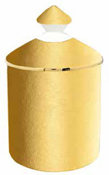Halcyon Days Solid Gold Vanilla Lidded Candle, MPN: BCSGO16LCG