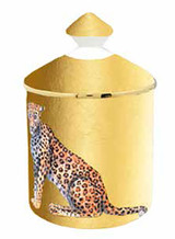 Halcyon Days MW Leopard Gold Jasmine Lidded Candle, MPN: BCMWL16LCG