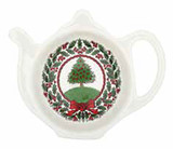 Halcyon Days Vintage Christmas Tree White Tea Bag Tidy, MPN: BCHCT03TBN