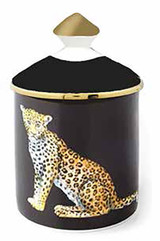 Halcyon Days MW Leopard Black Jasmine -Lidded Candle, MPN: BCMWL02LCG