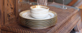 Robert Haviland & C. Parlon Limoges Abeilles Gold Covered Vegetable Bowl, MPN: HP80056