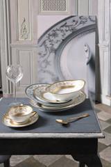 Robert Haviland & C. Parlon Limoges Dynasty Gold Oval Platter Small 14 Inch, MPN: HP393044