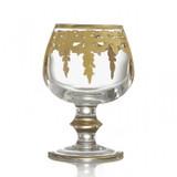 Arte Italica Vetro Gold Brandy Glass MPN: VG868, UPC: 814639005172