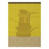 Le Jacquard Francais Au Fourneau Copper Tea Towel 24x31 , MPN: 24178, UPC: 3660269241780