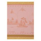 Le Jacquard Francais Plaisirs Gourmands Peach Tea Towel 24x31 , MPN: 24388, UPC: 3660269243883