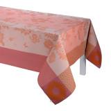 Le Jacquard Francais Asia Mood Tea Pink Tablecloth 86x86 , MPN: 24411, UPC: 3660269244118