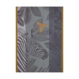 Le Jacquard Francais Zebra Family Grey Tea Towel 24x31 , MPN: 24672, UPC: 3660269246723
